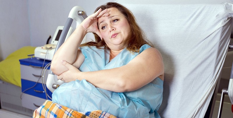 ожирение как причина боли в копчике