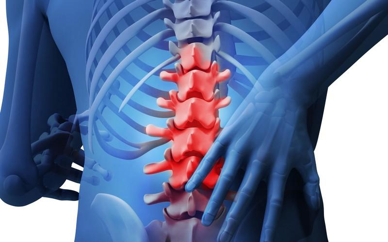 травмы позвоночника и боль