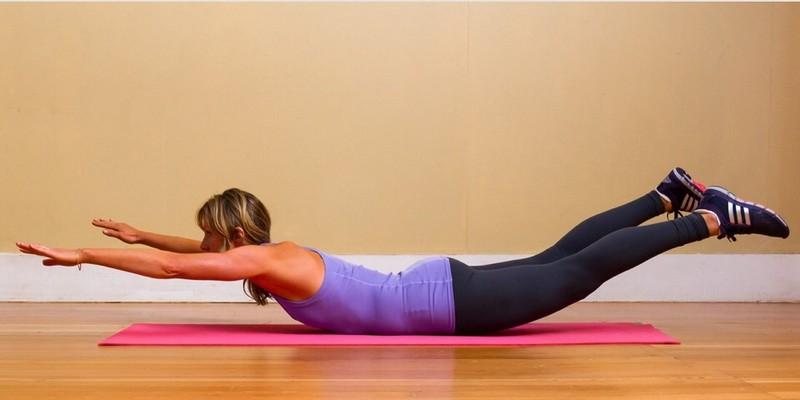 Комплекс упражнений для укрепления мышц спины