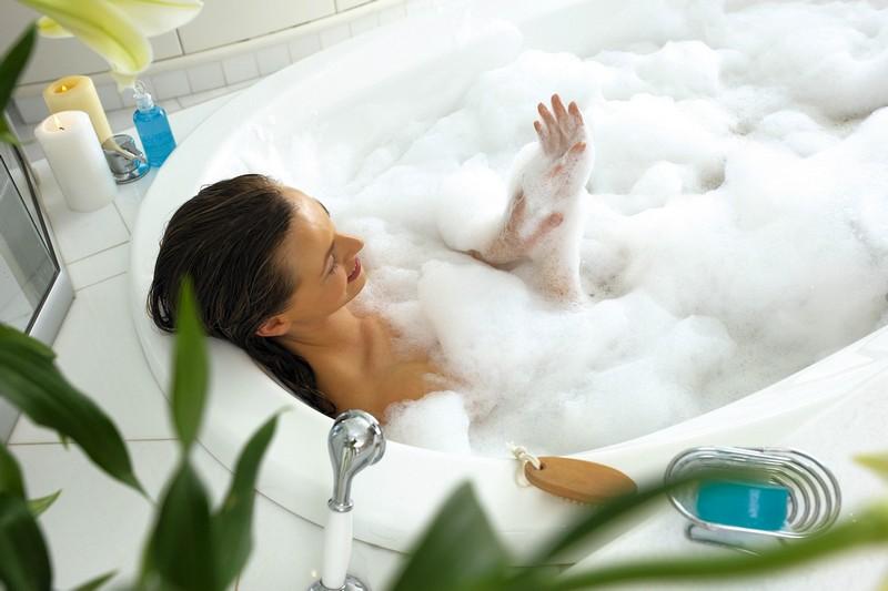Можно мыться пеной для ванн