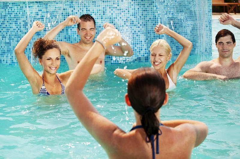 упражнения в бассейне при остеохондрозе