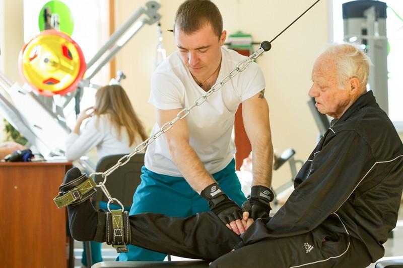 Упражнения при переломах