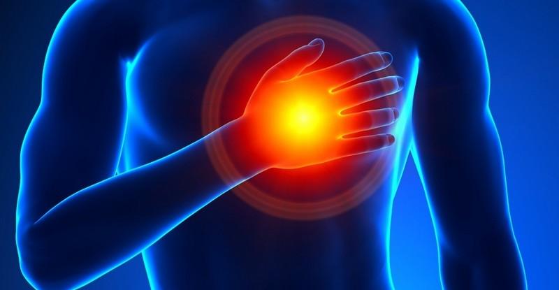 боль из плеч отдает в грудь