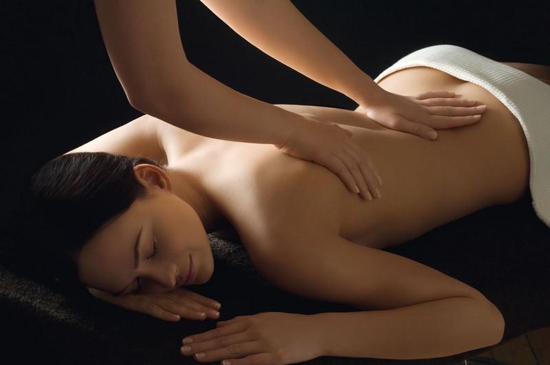 приемы массажа спины