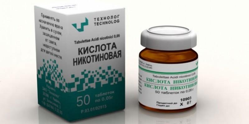 никотиновая кислота при остеохондрозе