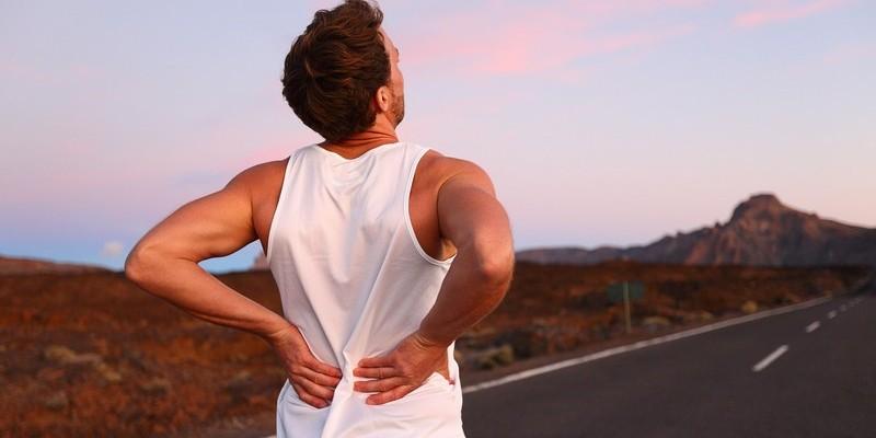После бега болит спина