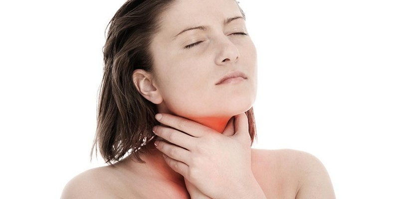 Боли в горле при остеохондрозе шейного отдела