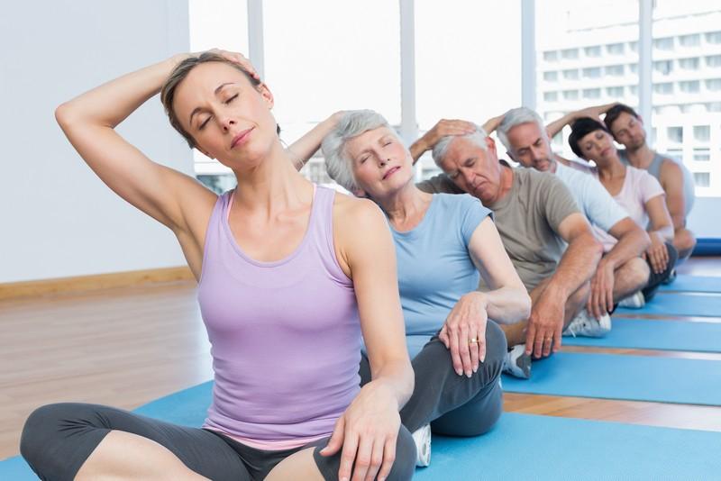 польза йоги при шейном остеохондрозе