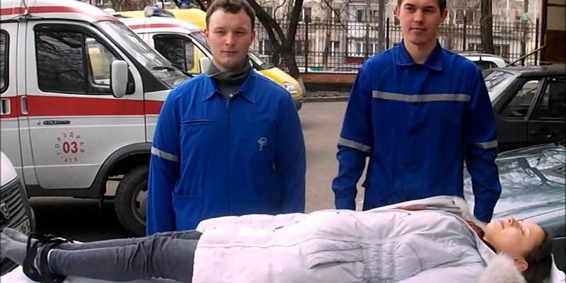 Первая медицинская помощь при переломе позвоночника