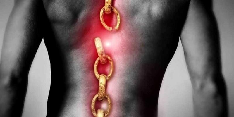 Ущемление нерва в грудном отделе позвоночника