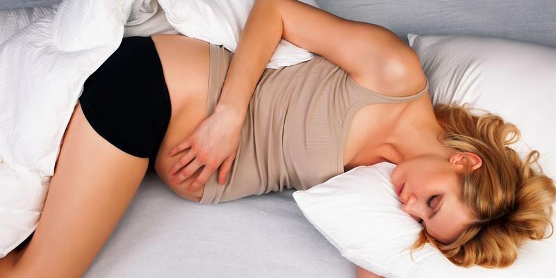 Тянет поясницу на 8 неделе беременности, что делать?