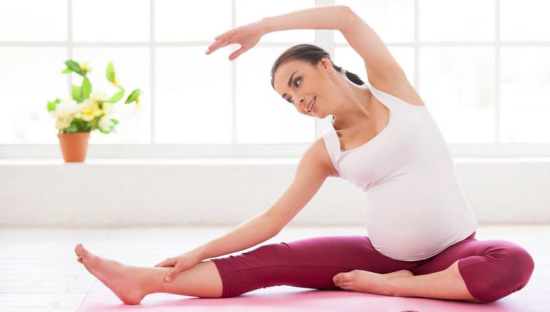 Беременность 20 неделя упражнения