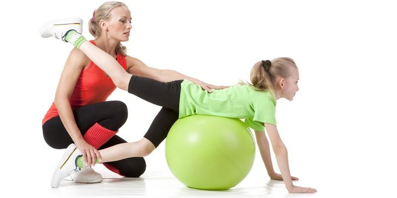 Какие бывают упражнения для осанки детям?
