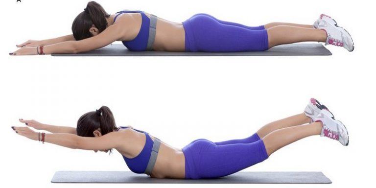 Это упражнение выполняется сразу же после первого